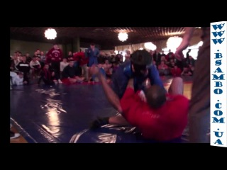 Combat Sambo real fight. ������ ����� - �������� ���